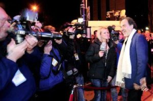 Our BCM reporter was on the red carpet with Oliver Stone.