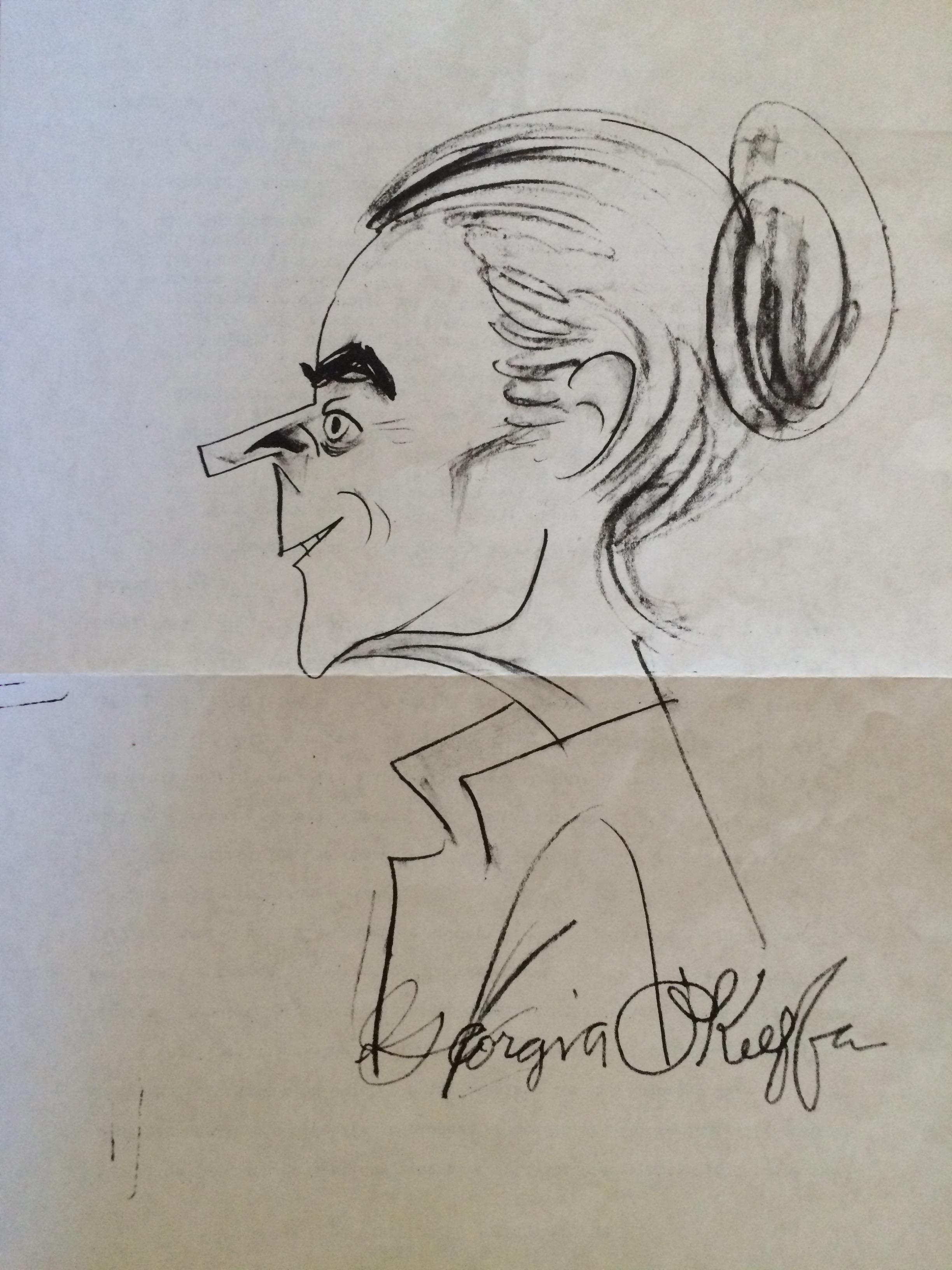 okeeffe sketch